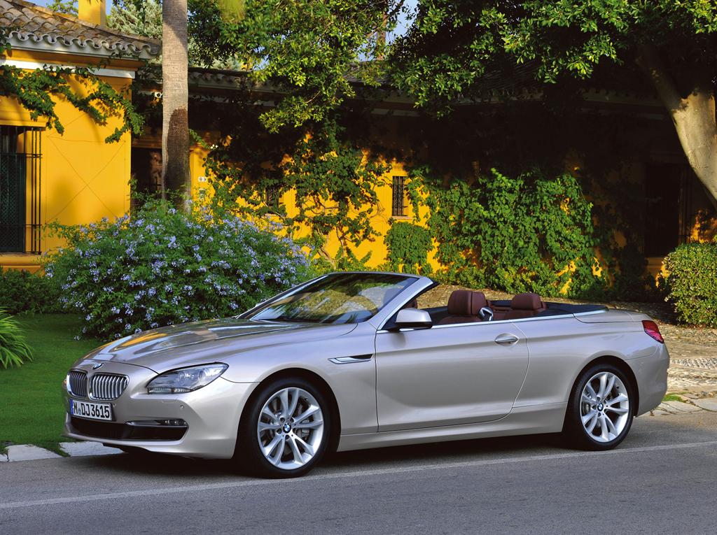 Neu in 2011: BMW 6er, hier als Cabrio.