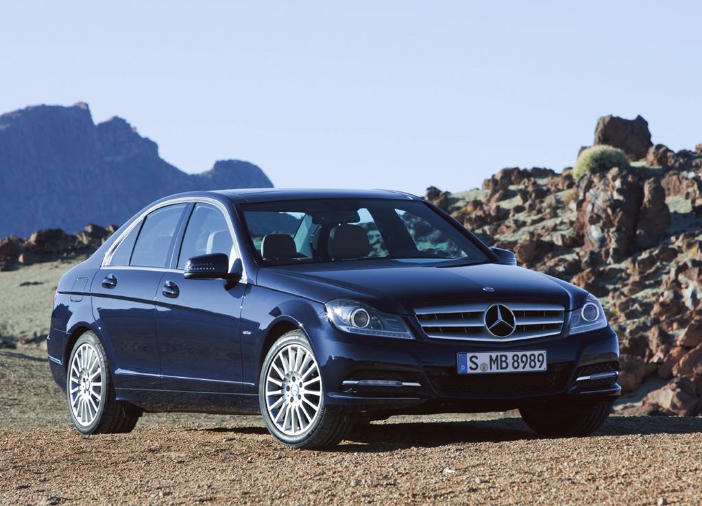 Neu in 2011: Mercedes C-Klasse, hier als Limousine.
