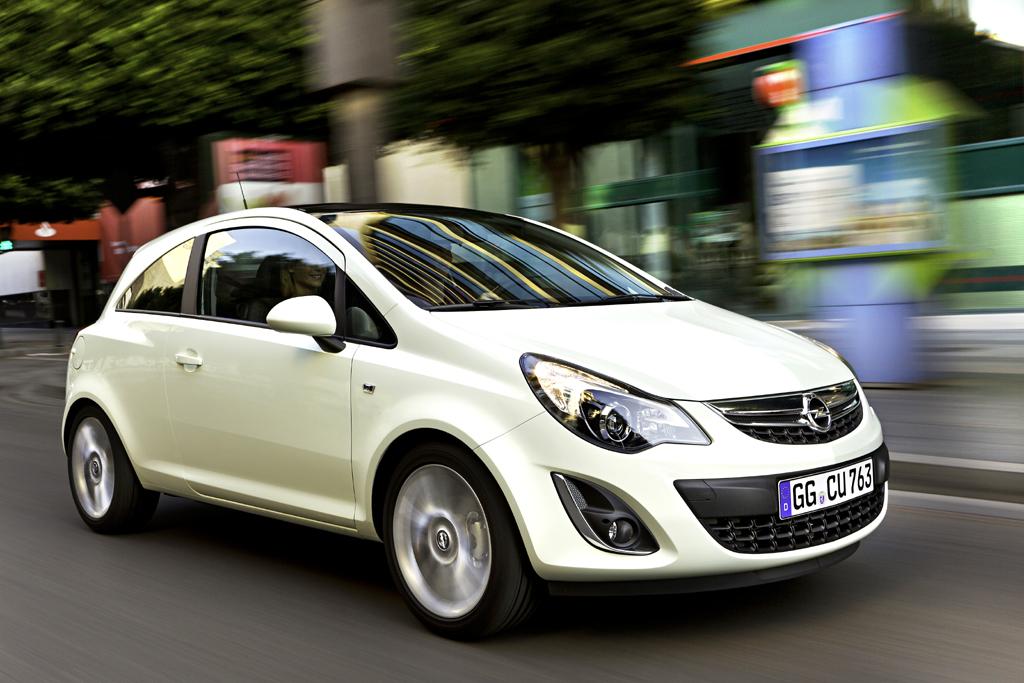 Neu in 2011: Opel Corsa.