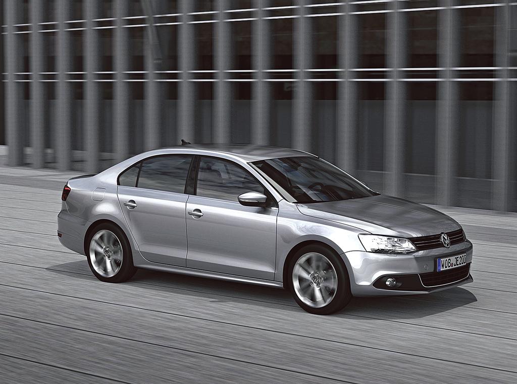 Neu in 2011: VW Jetta.
