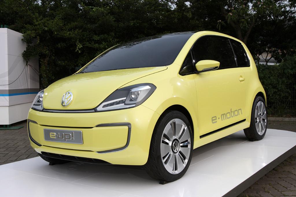 Neu in 2011: VW Up, hier noch als Elektro-Konzeptauto.