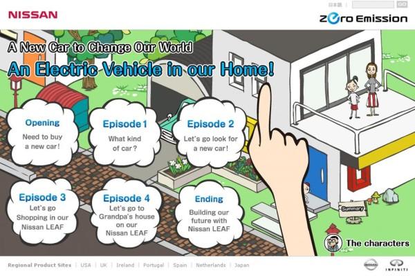 Nissan: Mit Comic-Kindern für den Klimaschutz