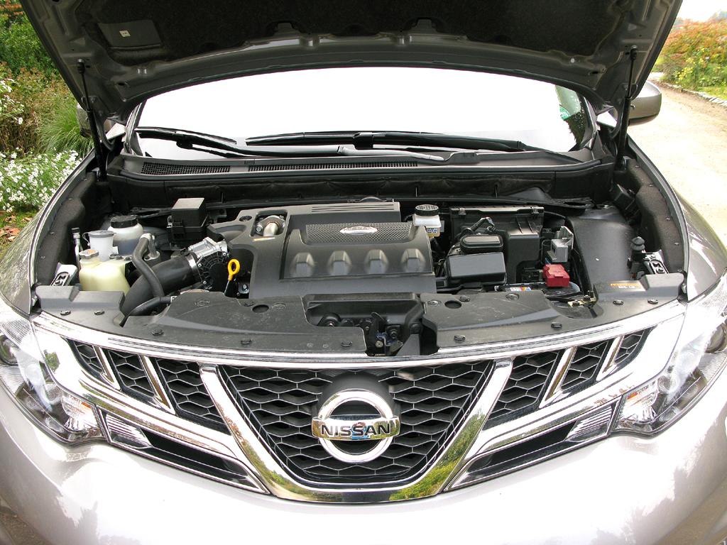 Nissan Murano Diesel: Der 2,5-Liter-Vierzylinder leistet 190 PS.