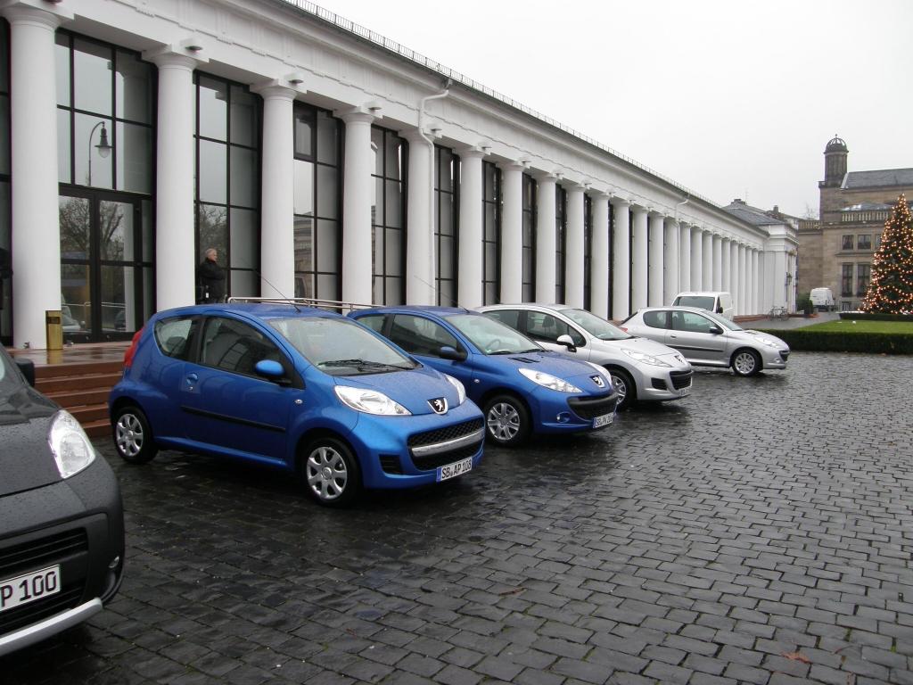 Peugeot Kleinwagen: CO2-Sparzwerge, ein Saubermann und neue Mobilitätskonzepte