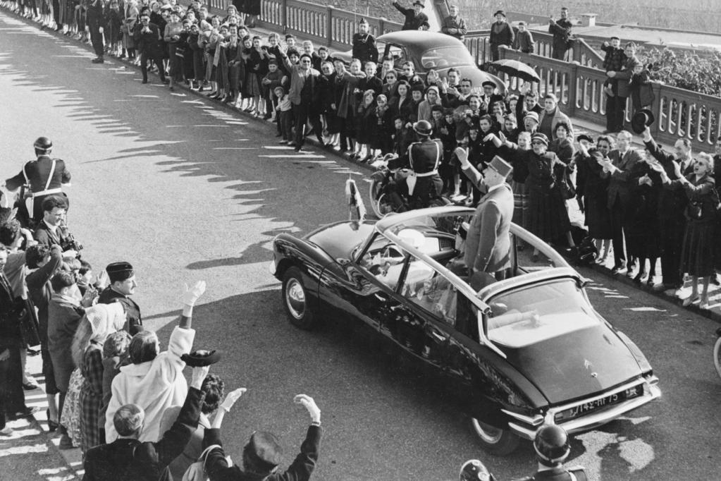 Präsident de Gaulle war bekennender DS-Fan.