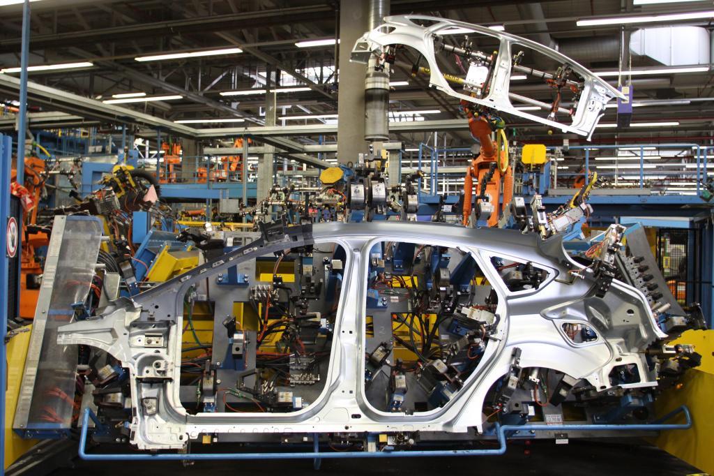 Produktionsbeginn des neuen Ford Focus in Saarlouis.