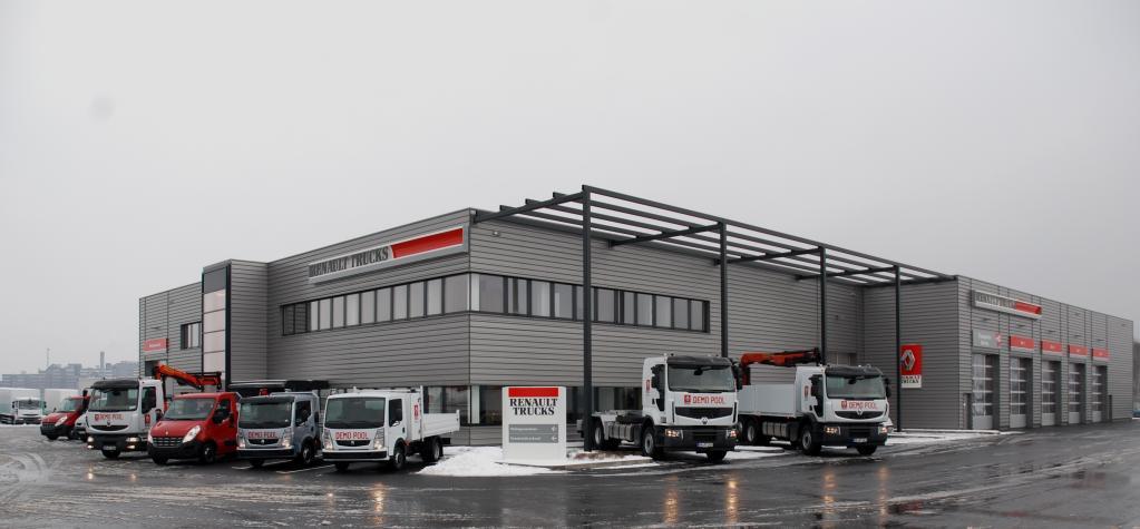 Renault-Trucks-Niederlassung Köln in Frechen.