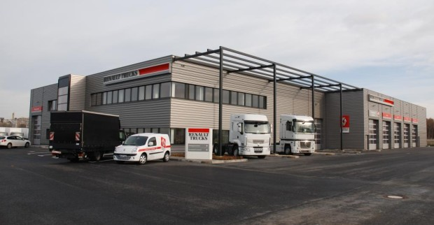 Renault Trucks nahm neue Niederlassung in Betrieb