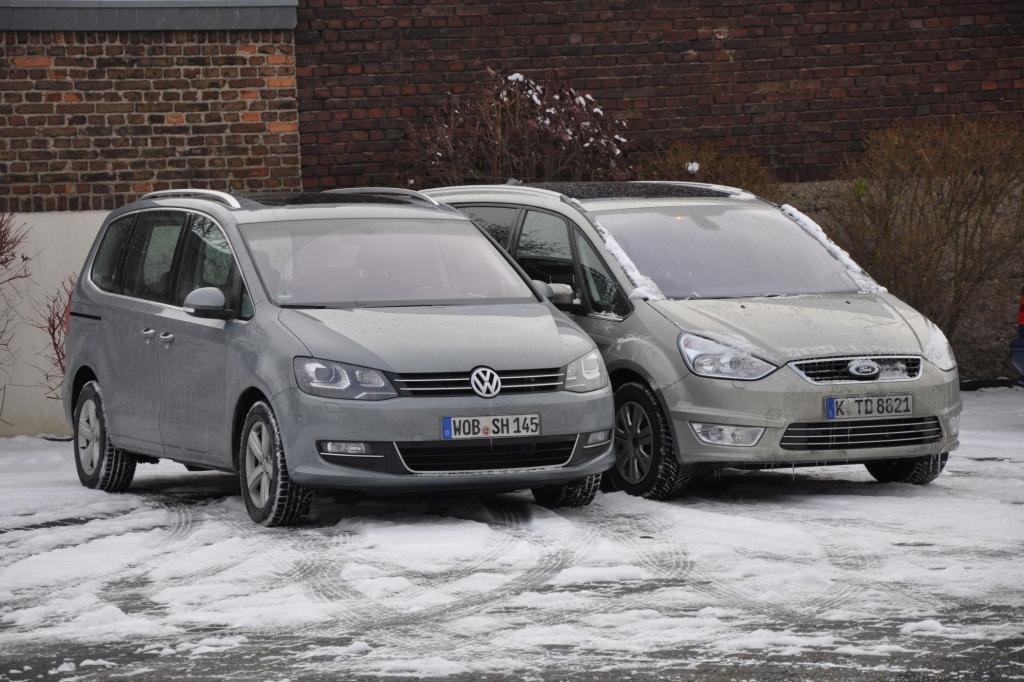 Test: Ford Galaxy vs. VW Sharan - Getrennte Zwillinge