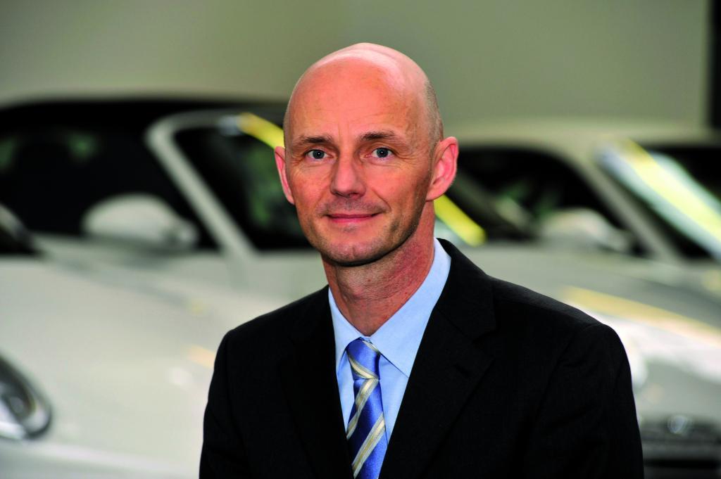 Thomas Becki spricht für Porsche