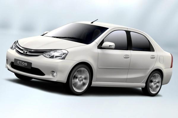 Toyota Etios startet in Indien
