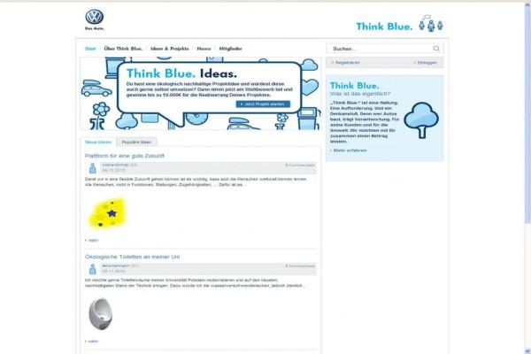 VW sucht nachhaltige Ideen für den Alltag