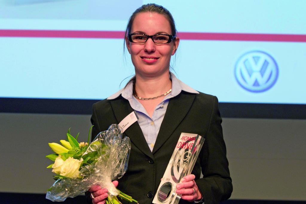 Volkswagen vergibt ''Woman Driving Award''