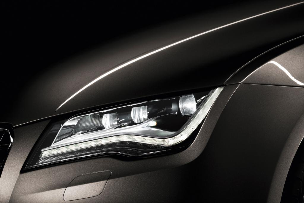 Voll-LED-Scheinwerfer beim Audi A7: Kalter Blick