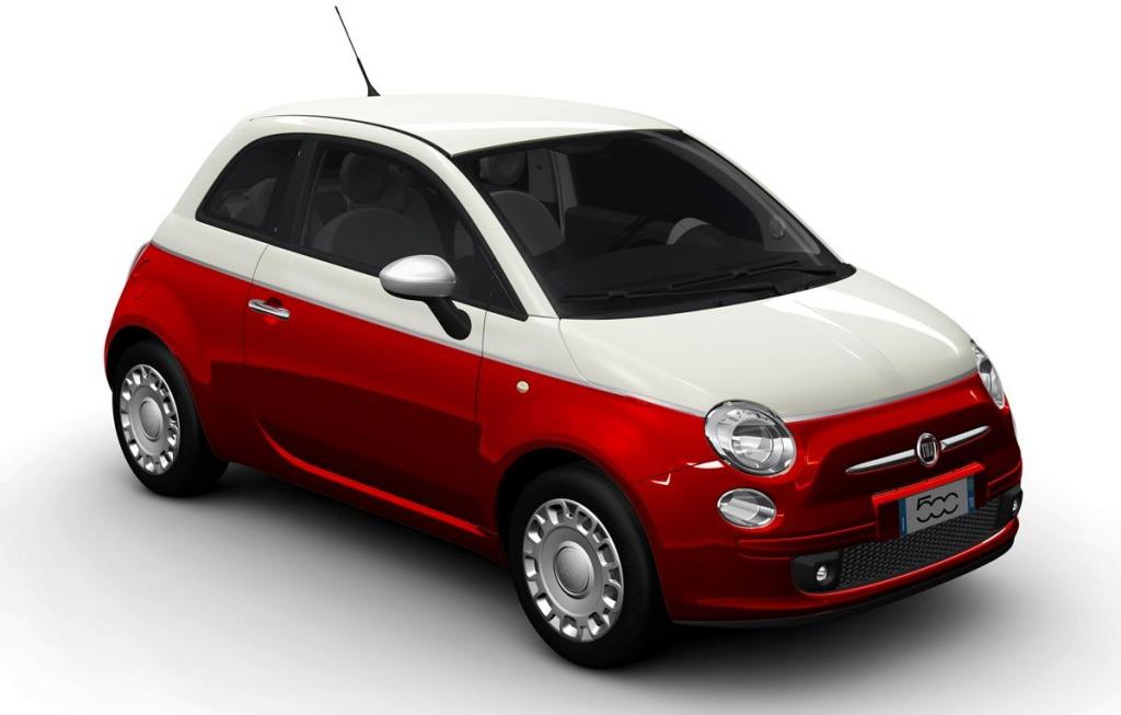 Wie finden Sie den Fiat 500 Bicolore ?