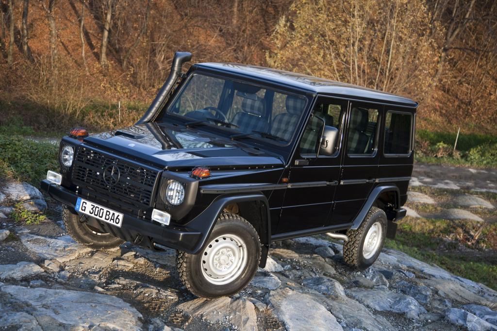 Wie vor über 30 Jahren: Das G-Modell Professional von Mercedes-Benz