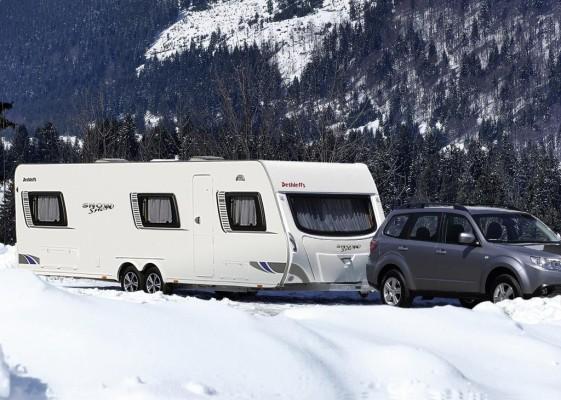 Wohnmobil/Caravan - Ski und Camping gut