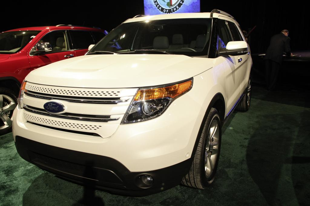 """North American Truck of the Year 2011"": Ford Explorer."