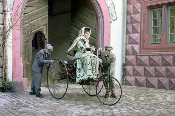 125 Jahre Benz Patent-Motorwagen - Der Urmeter