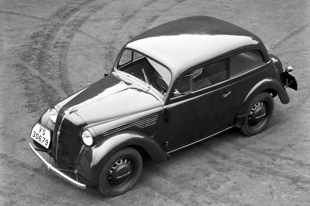 75 Jahre Opel Kadett: Im Alphabet noch vor dem ''A''
