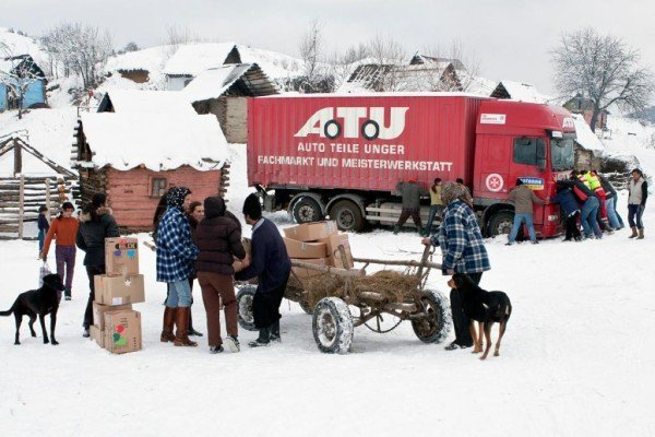 A.T.U: Weihnachtstrucker-Aktion erneut ein Erfolg