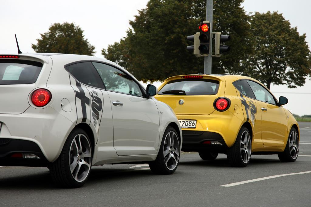 Alfa Romeo MiTo - Spritsparen mit Start-Stopp-Automatik