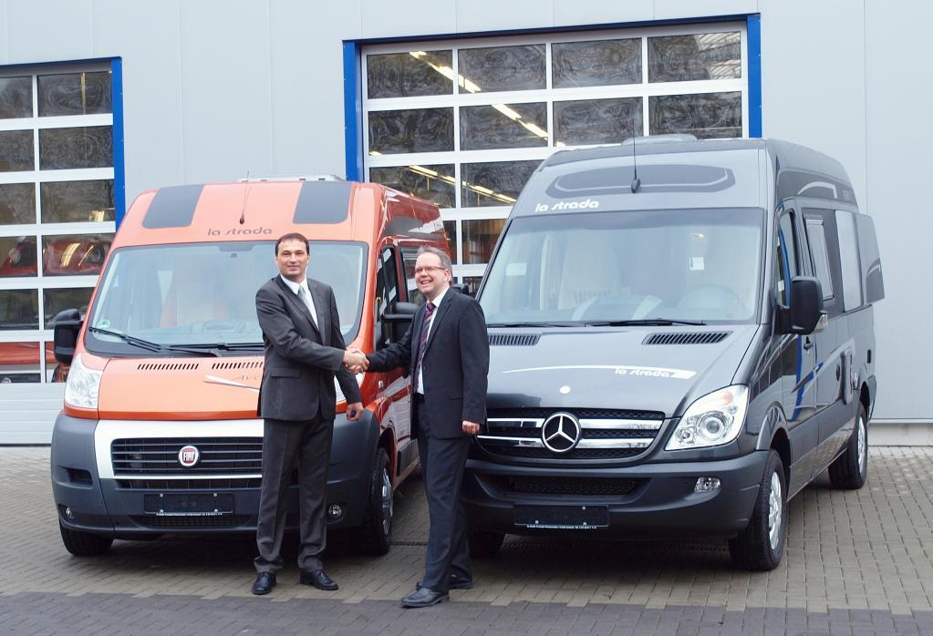 Andreas Dalchow (links) und Marco Lange sind die neuen Inhaber von La Strada.