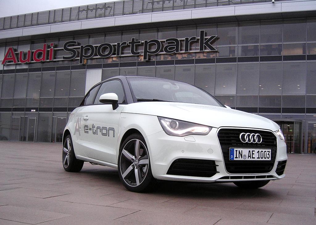 Audi A1 e-tron: Der Prototyp baut auf dem Serienmodell auf.