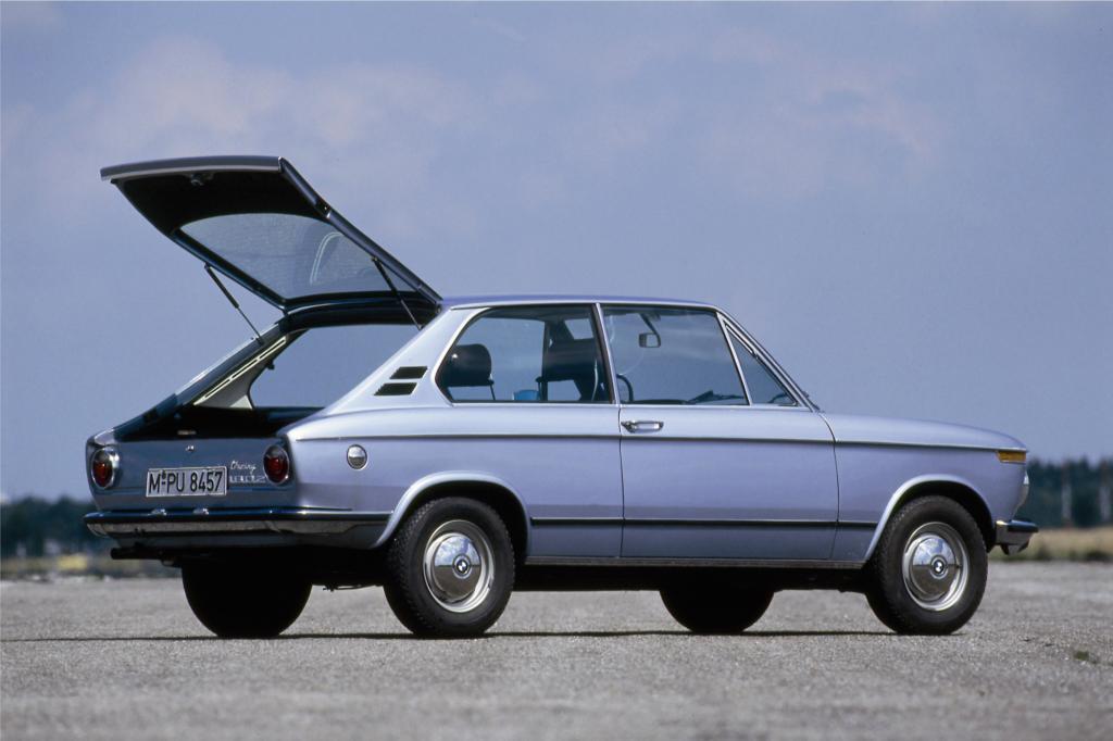 BMW 1802 touring - damals stand die Bezeichung noch für einen Dreitürer