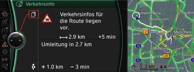 BMW führt neues Verkehrsinformationssystem ein