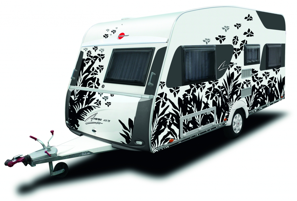 CMT 2011: Bürstner Sondermodell Averso Plus Jungle Edition in Stuttgart