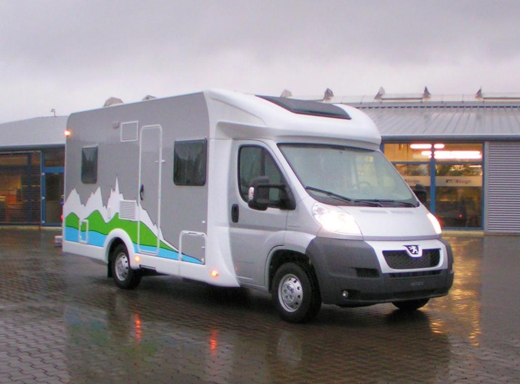 CMT 2011: Peugeot mit Weltpremiere des Reisemobils Boxer Liberté in Stuttgart