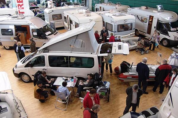Camping- und Caravan-Messe: Alles zum Urlaub auf vier Rädern