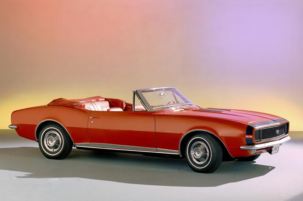Chevrolet Camaro Convertible, 1967