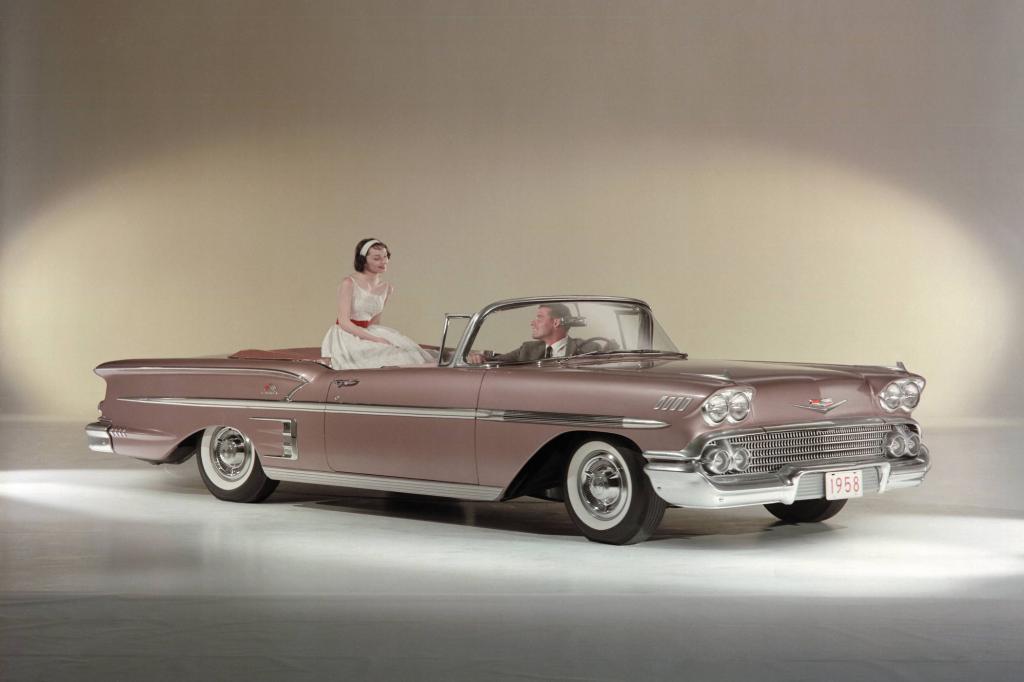 Chevrolet Impala Convertible, 1958