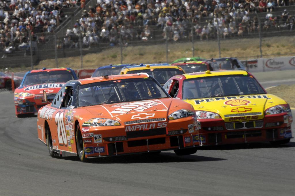 Chevrolet Impala SS beim Savemart 350 Rennen, 2007