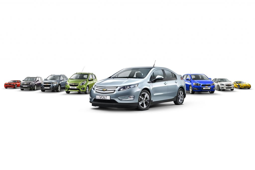 Chevrolet Modellprogramm, 2011