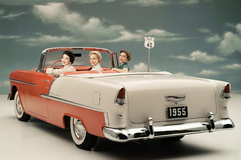 Chevy Bel Air Convertible, 1955