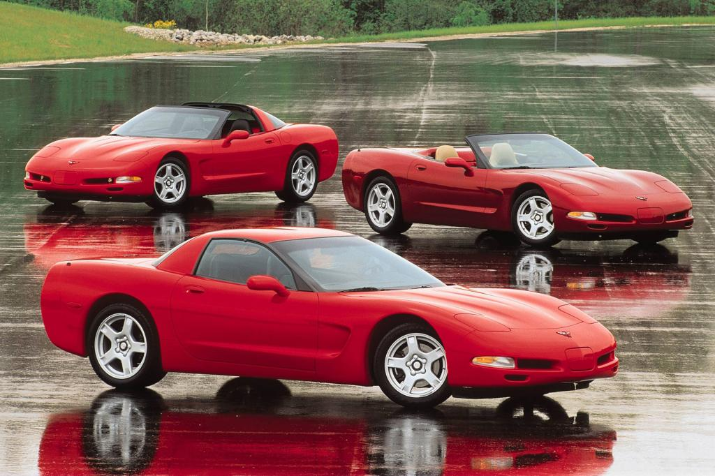 Corvette Modellpalette, 1999