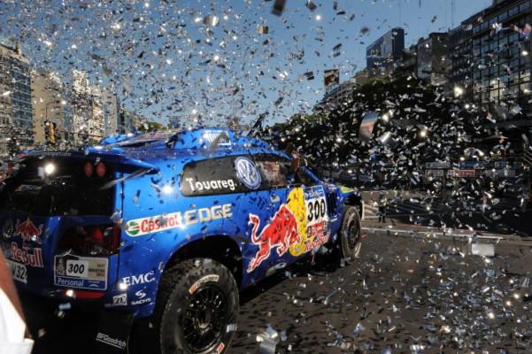 Dakar 2011: Sainz übernimmt mit Volkswagen die Führung