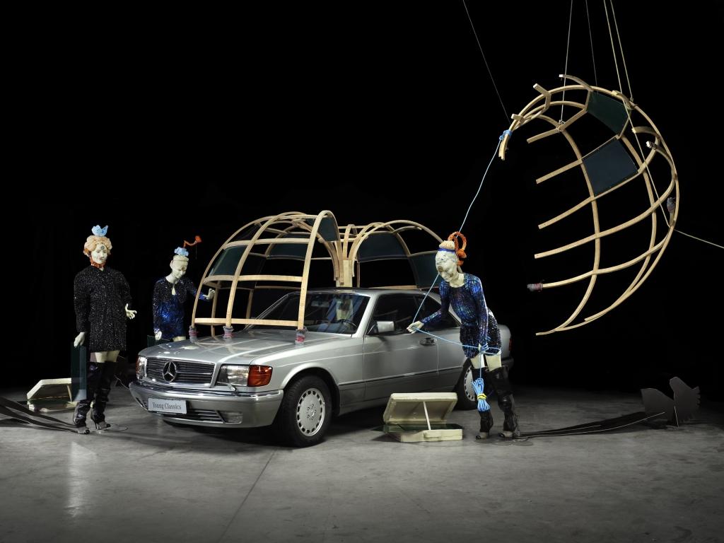 Das Recolletcion Quartett - Mercedes-Benz trifft Mode