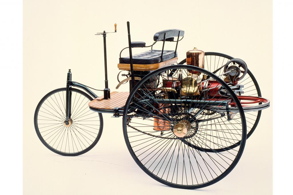 Das erste Auto der Welt feiert jetzt es seinen 125. Geburtstag