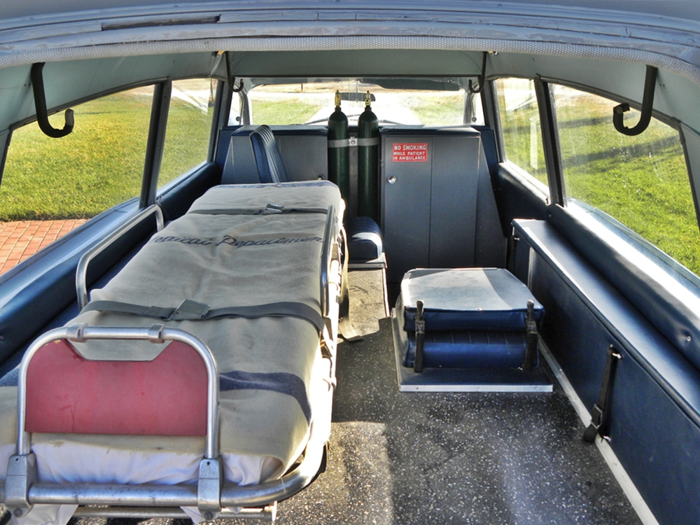 Der Krankenwagen ist noch im Original-Zustand, Bild von: Pontiac Online