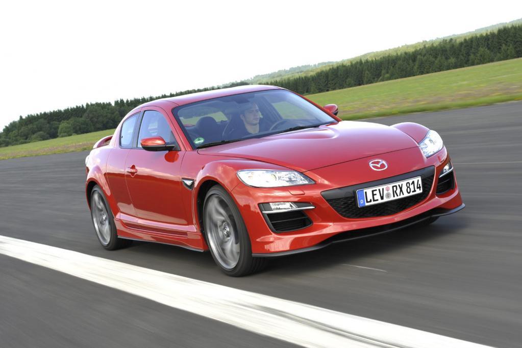 Der Mazda RX-8 hat sich vom europäischen Markt zurückgezogen.