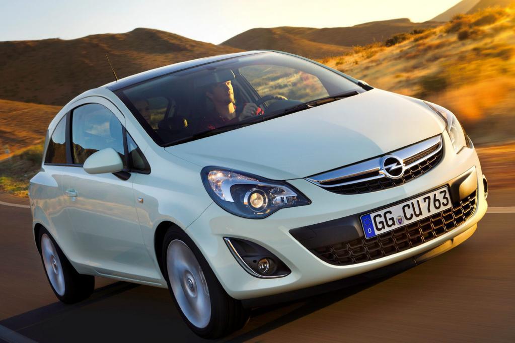 Der Opel Corsa hat auf Wunsch sogar eine Lenkradheizung an Bord.