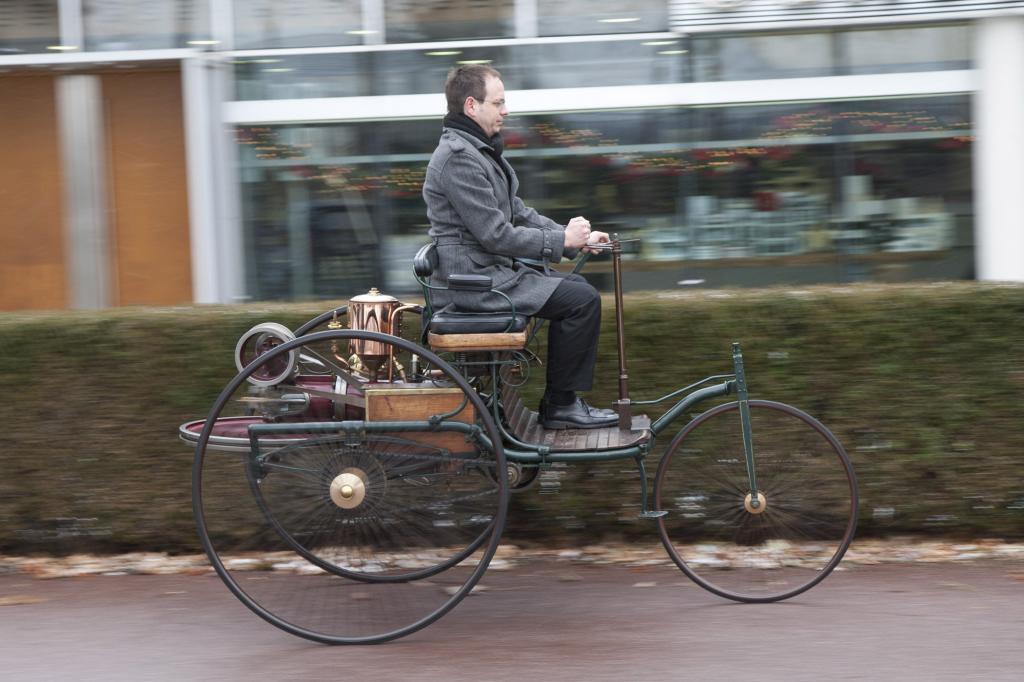 Der Patent-Motorwagen ist der Urmeter unserer individuellen Mobilität