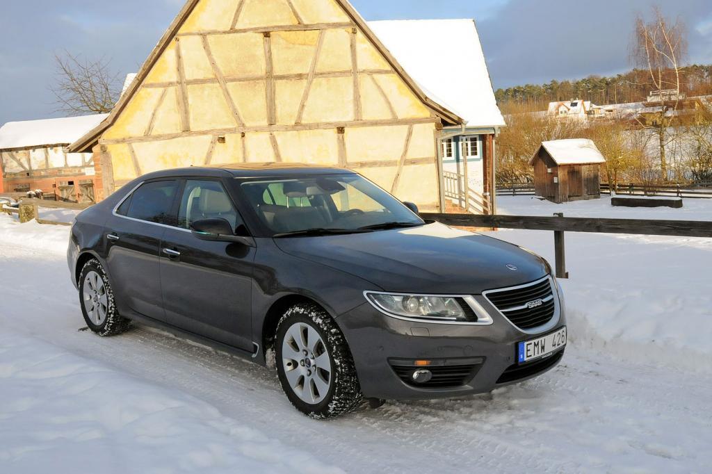 Der Saab 9-5 ist ein Schwestermodell vom Opel Insignia