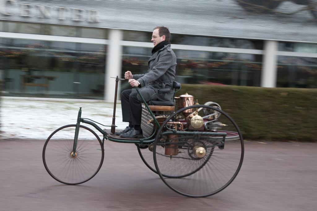 Der Urmeter - Patentwagen
