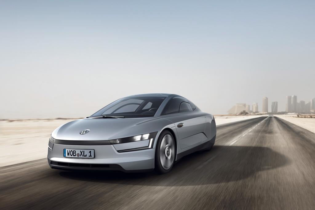 Der VW soll unter einem Liter verbrauchen