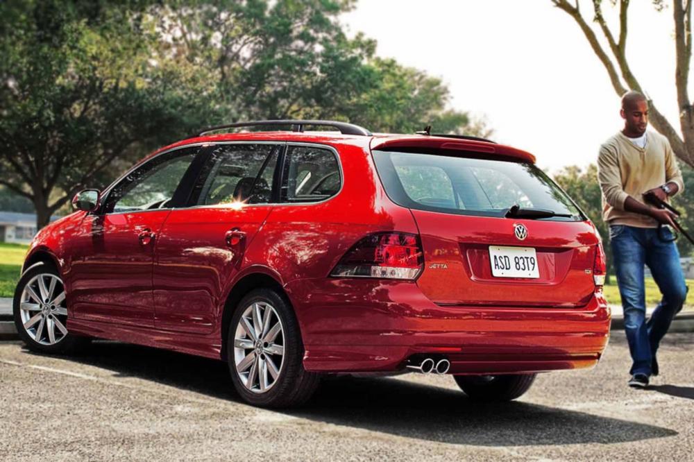 Der bei uns bekannte VW Golf Variant wurde in den US als Jetta verkauft